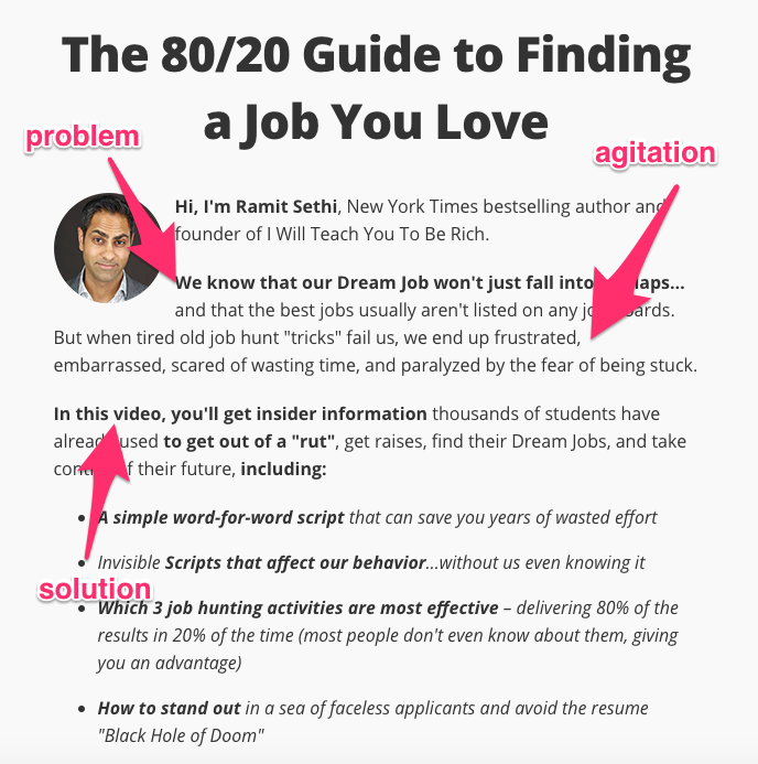 The 80 20 Guide to Finding a Job You Love DreamJob from I Will Teach You To Be Rich 1