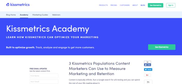 blog kissmetrics