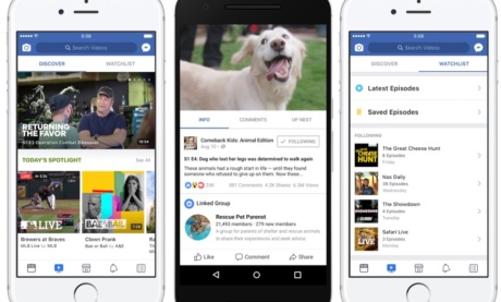 Lo Que Facebook Watch Significará Para Profesionales de Marketing